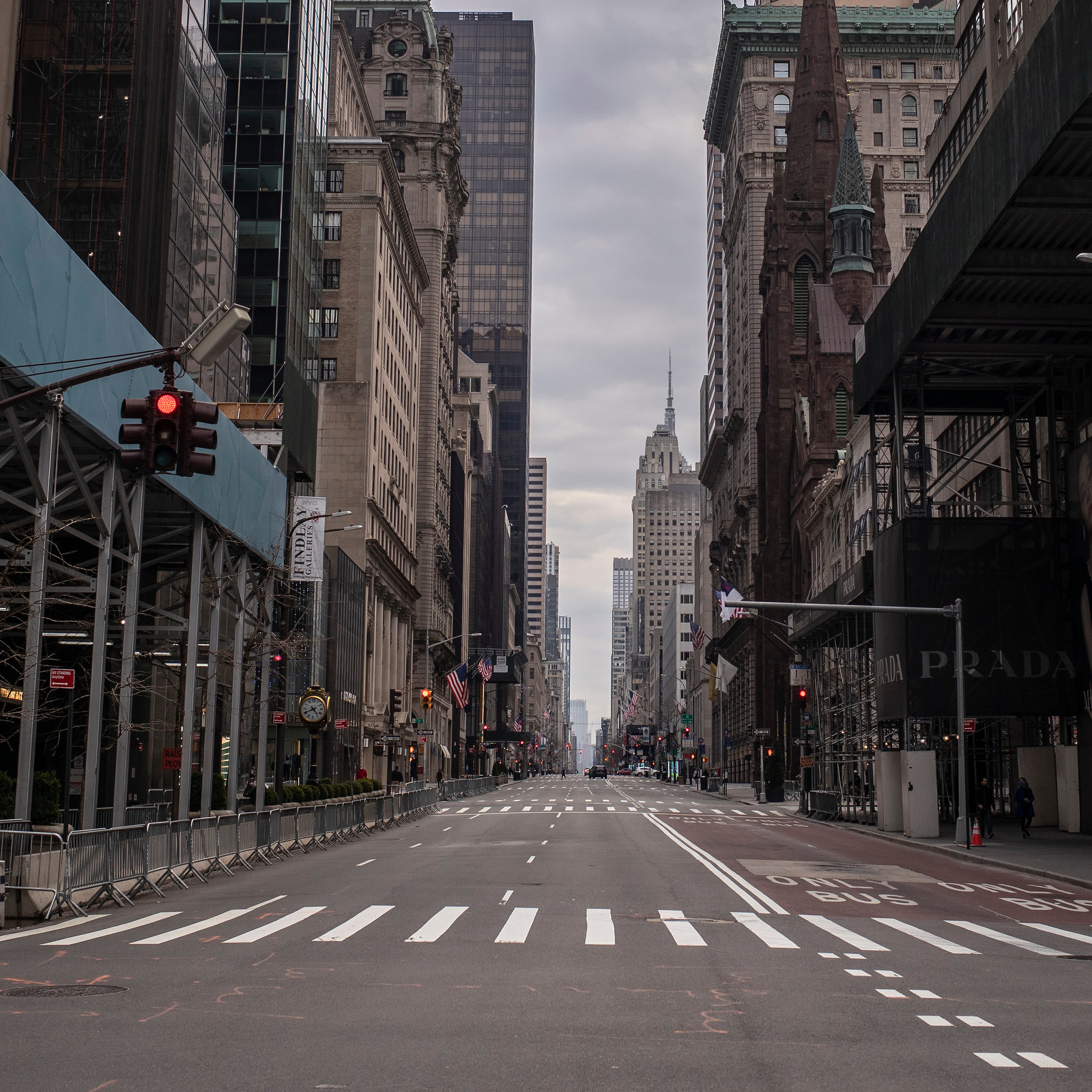 Empty Streets of 2020